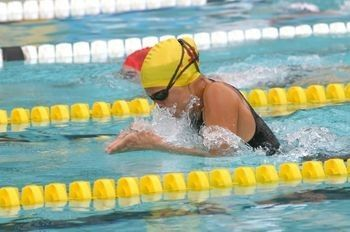 Swim Drill – Breaststroke – BR arms, FR kick