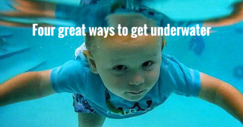 Four great ways to get someone to go underwater