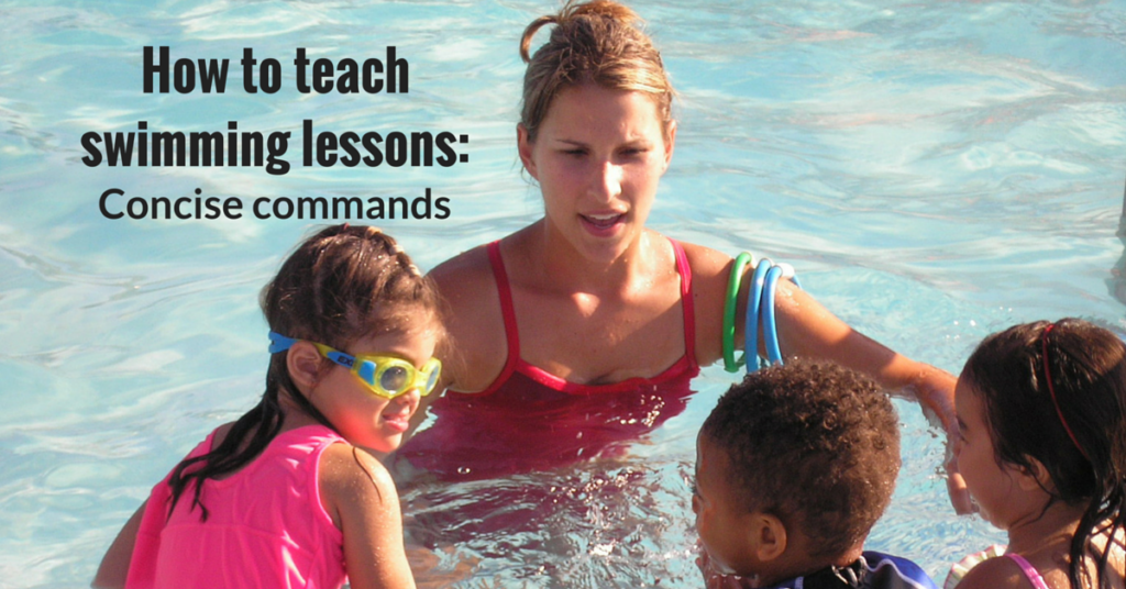 How to teach swimming lessons – Concise Commands