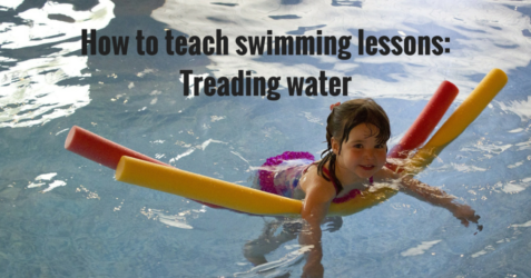 How to teach swimming lessons - Treading Water
