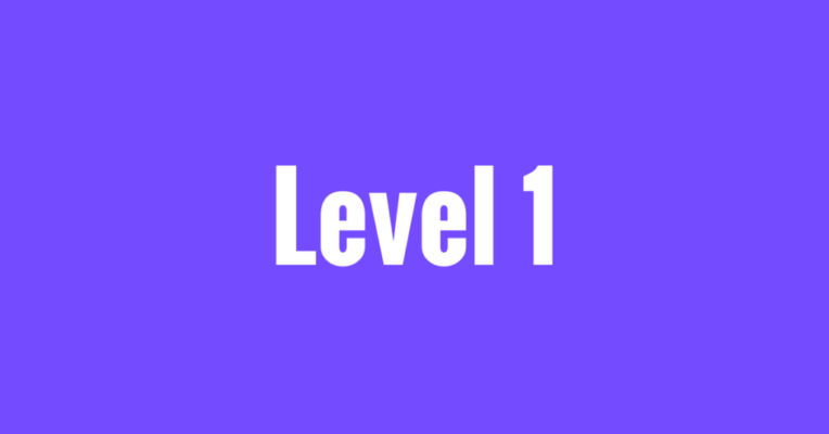 Level 1 feature