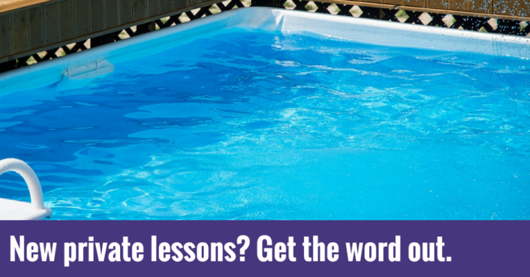 New private lessons- Get the word out