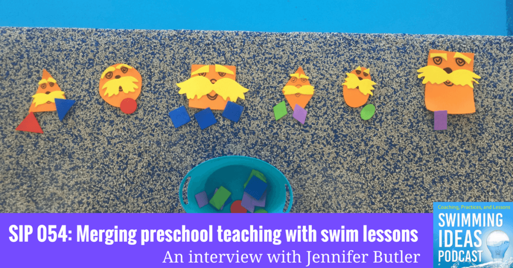SIP 054: Merging preschool teaching with swim lessons – An interview with Jennifer Butler
