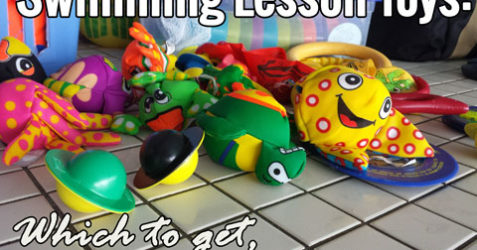 Swimming Lesson Toys: Which to get, and the Games to use them