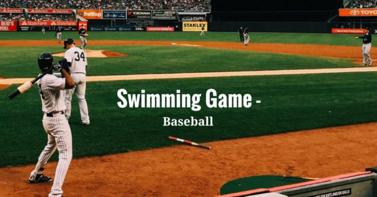 swimming-game-baseball