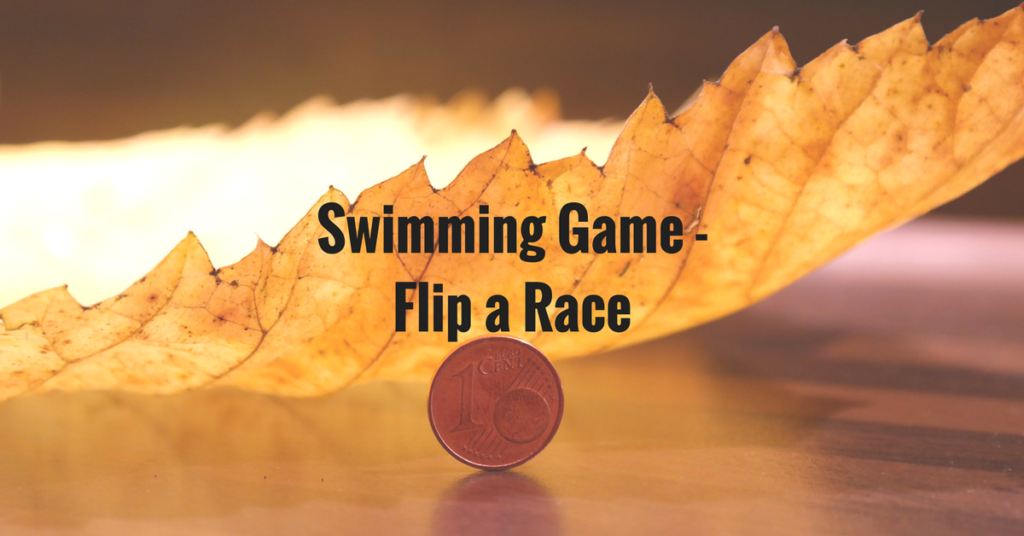Swimming Game – Flip a Coin