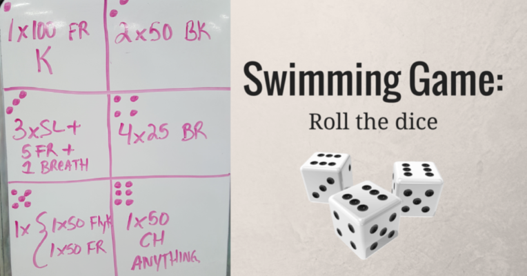 Swimming Game- Roll the Dice