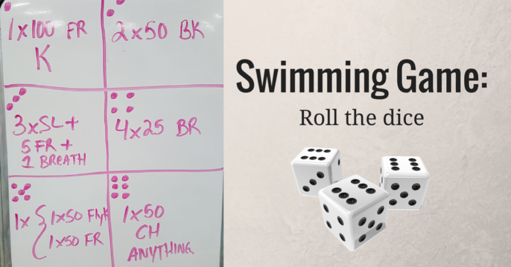 Swimming Game – Roll the dice game