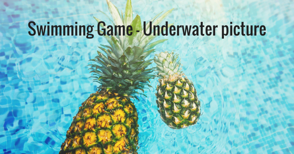Swimming Game – Underwater Picture