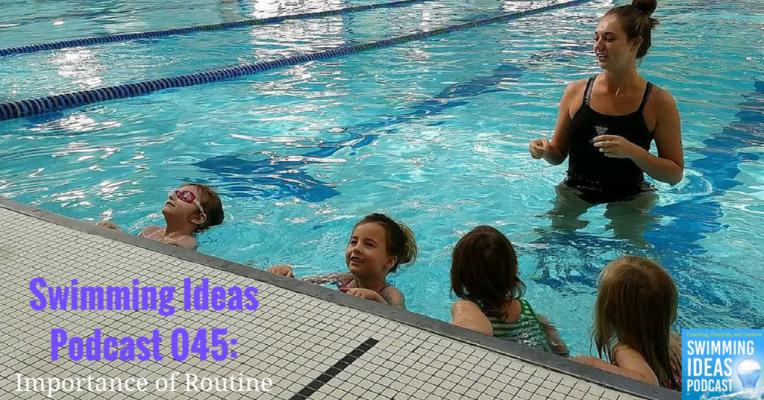 Swimming Ideas Podcast 045- Artwork
