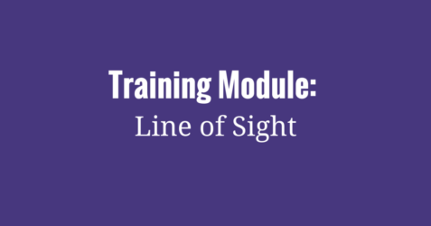 Training Module- Line of Sight