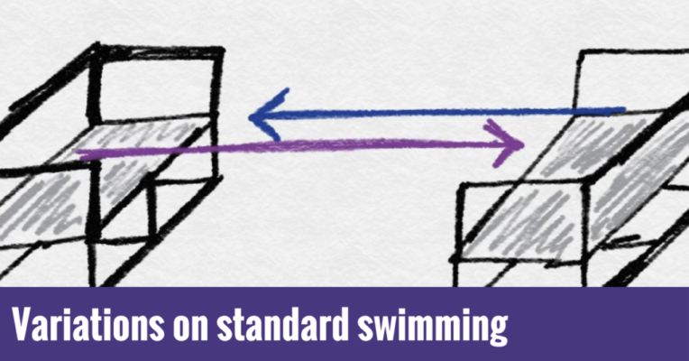 Variations on standard swimming